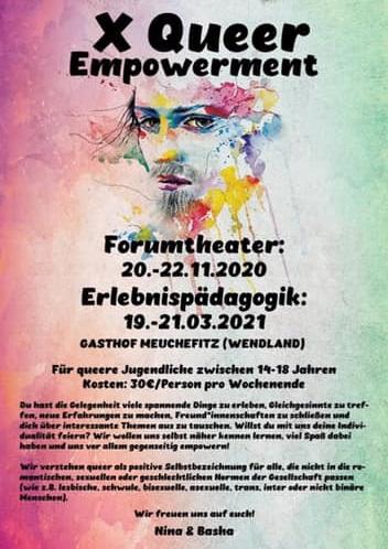 Forumtheather im Tagungshaus Meuchefitz!