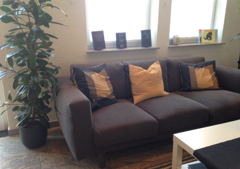 Unser Sofa!