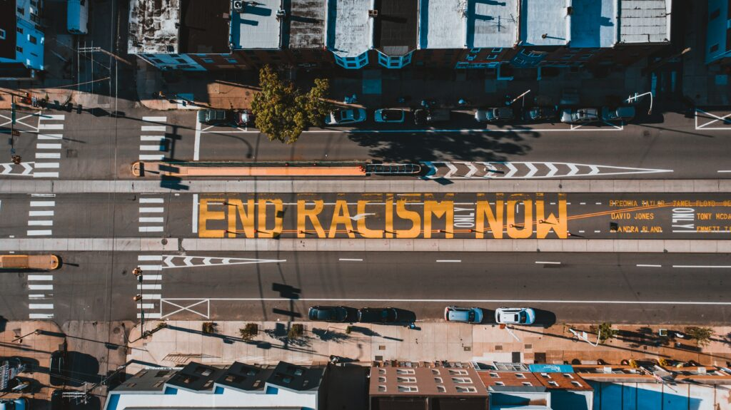 End Racism Now!