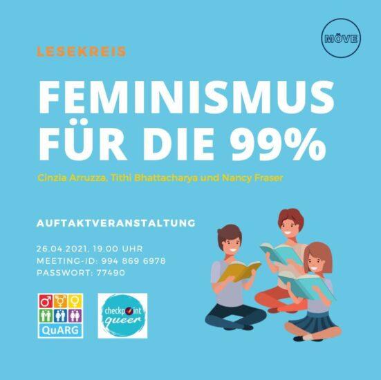 Feministischer Lesekreis – Feminismus für die 99%