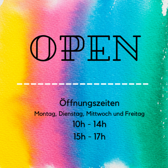 Wir haben wieder für Euch geöffnet…
