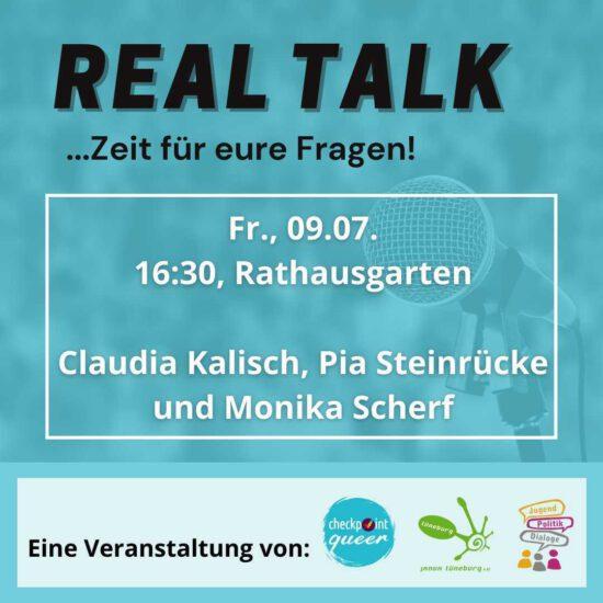 VERSCHOBEN: Real Talk – Zeit für eure Fragen!
